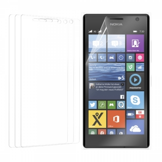 3x Fólie na display / screen protector pro Lumia 730