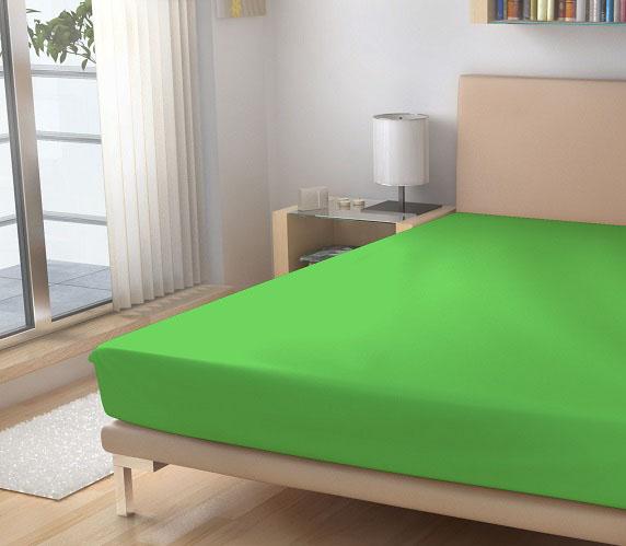 ostre zelene prosteradlo, barva 20