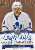 Robert Reichel Upper Deck 2017-18 Toronto Maple Leafs Centennial Autographs
