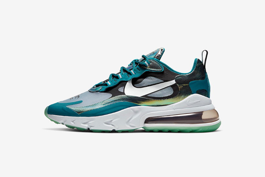 Air Max 270 React - Turquoise