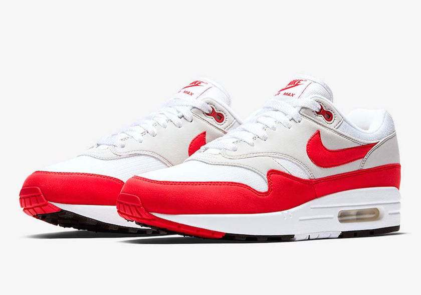 Air Max 1 - White/Red