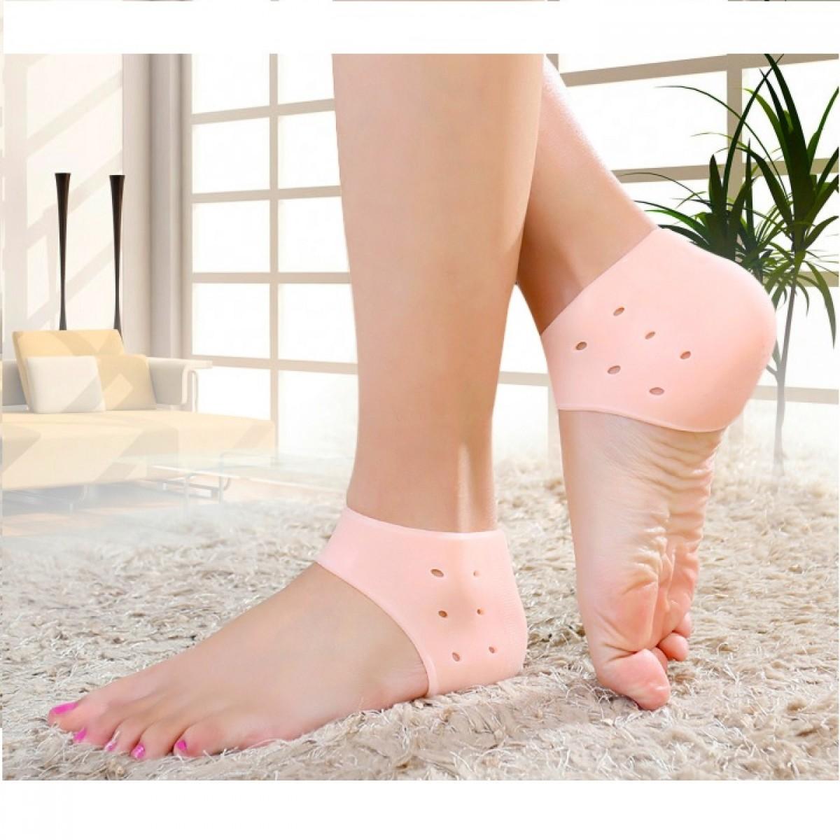 Silikonové ponožky na paty 2 kusy HEEL-ANTI