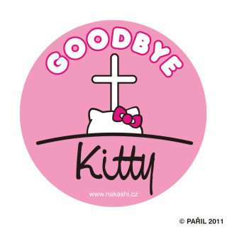 Goodbye Kitty - pink
