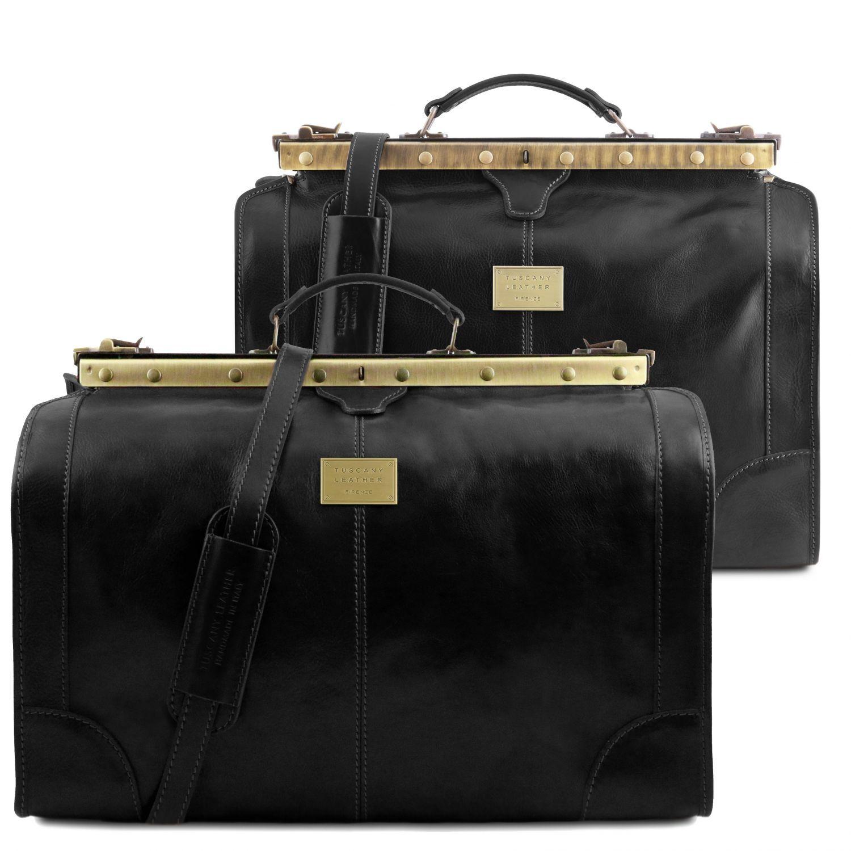 """Madrid - Cestovní sada tašek """"Gladstone"""" - Černá barva"""