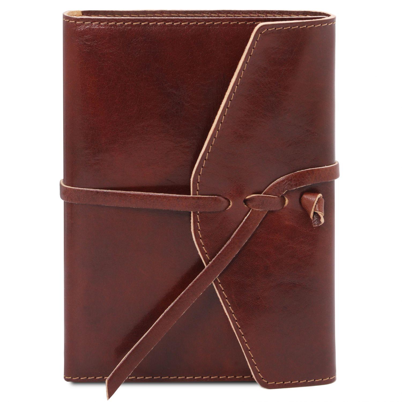 Kožený zápisník - Hnědá barva