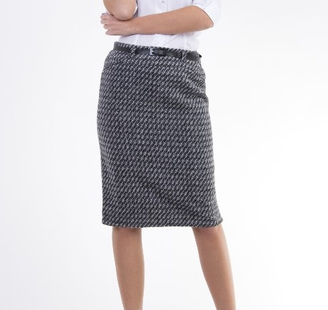 Dámská vzorovaná zimní sukně - vel. 46 c044663d9d