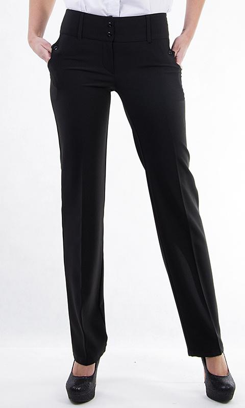Dámské společenské kalhoty - černé - vel. 50 c9625356a4