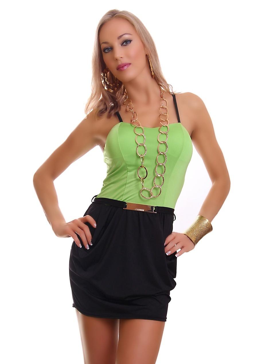 54cf98cc17c Krásné dámské mini šaty - vel. UNI