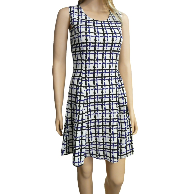 37eeafc3694 Dámské letní šaty s proužky - bílé - vel. M L