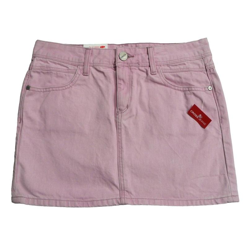 Dámská riflová sukně zn. CROSS - růžová - vel. 30 25603d48b7