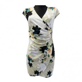 Dámské květované letní šaty Veronika - béžové - vel. L XL empty f5a542a1b2