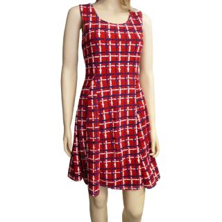 Dámské letní šaty s proužky - červené - vel. L XL empty 461eb3f4e3