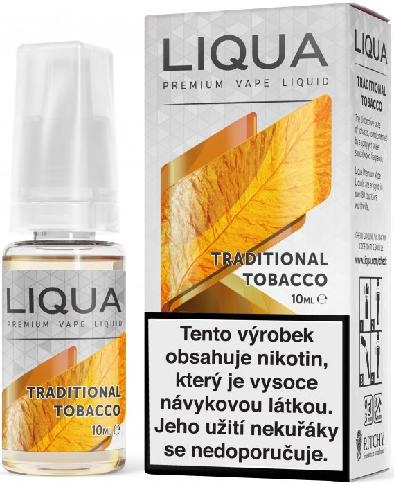 Liquid LIQUA CZ Elements Traditional Tobacco 10ml