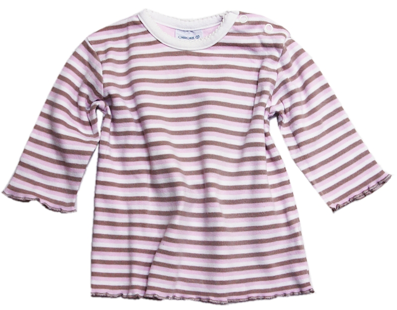 Pruhované bavlněné triko dl.rukáv-vel.68 fb17f7b085