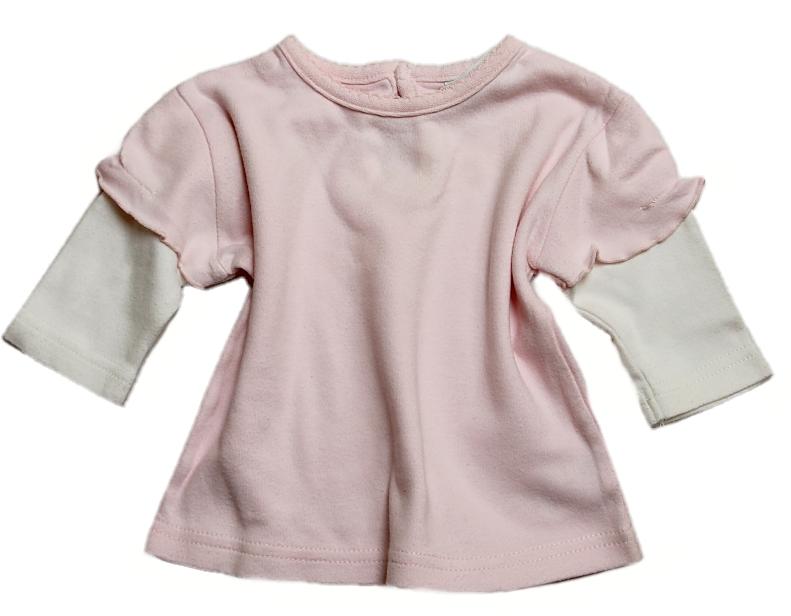 Růžové triko s dlouhým rukávem Cherokee-vel.56 cc84a51b49