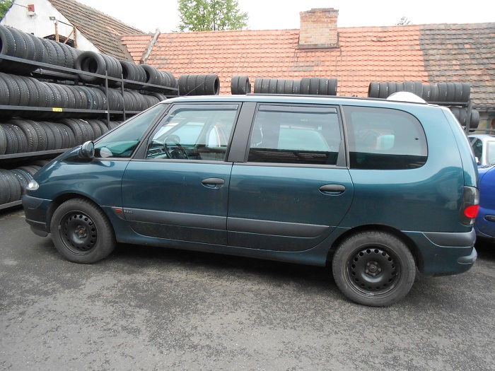 Renault Espace III 2,2 dCi, r. v. 2001