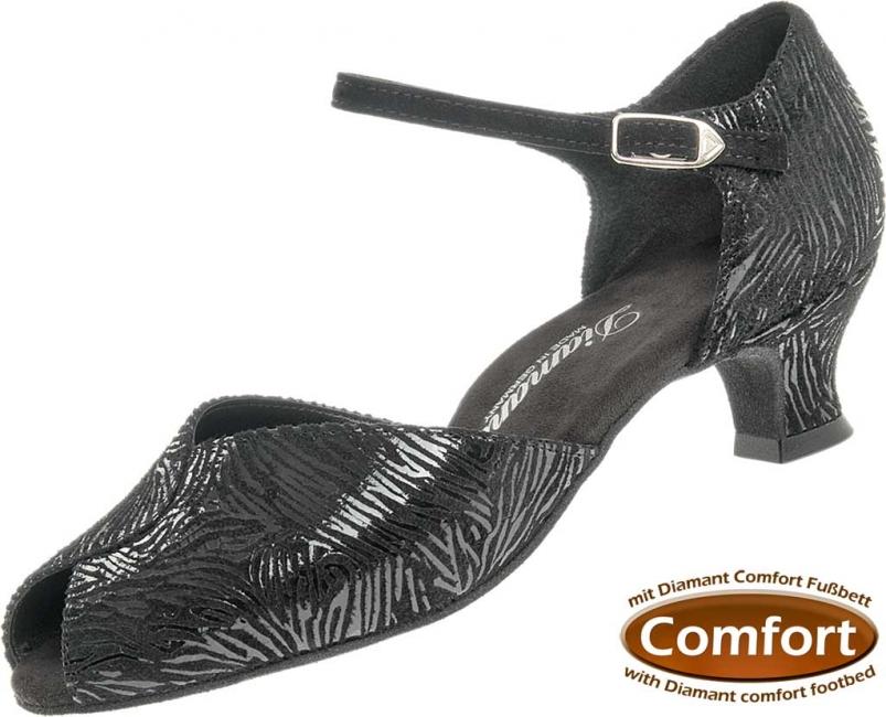 Diamant latina dámská taneční obuv černá kůže - šíře G empty fd05804677
