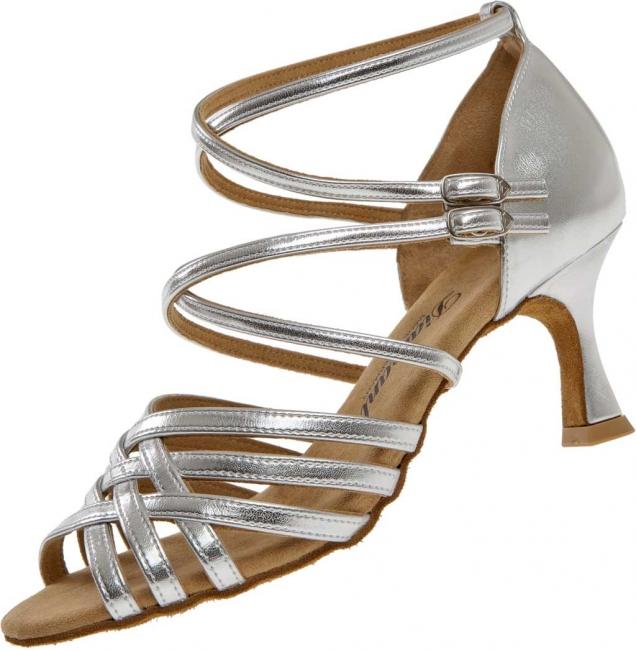 Diamant latina dámská taneční obuv stříbrná empty f4b8f9b6fa