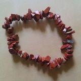 Náramek z červeného  jaspisu