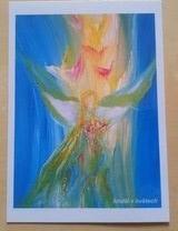 Anděl v květech