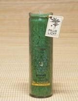 Čakrová svíčka - Zelená velká