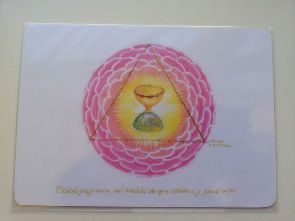 Vděčně přijímám své vnitřní dary a s láskou je používám