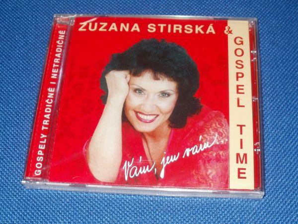 CD Zuzana Stirská - Gospel Time - Gospely tradičně i netradičně - Vám, jen Vám...
