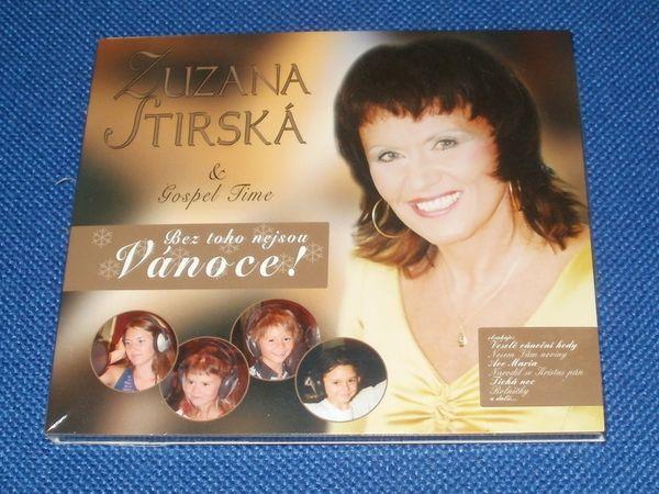 CD Zuzana Stirská - Gospel Time - Bez toho nejsou Vánoce!