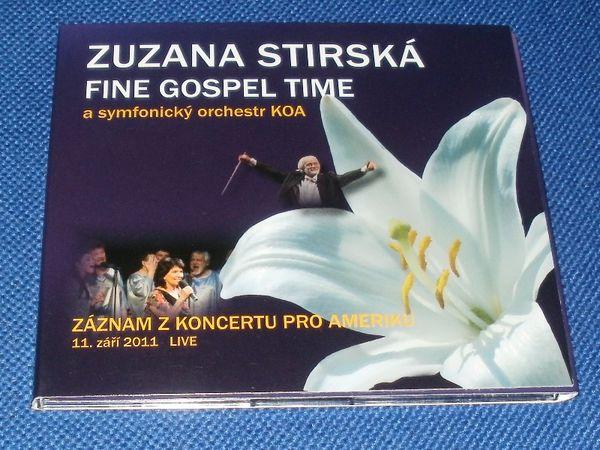 CD Zuzana Stirská - Fine Gospel Time a symfonický orchestr KOA