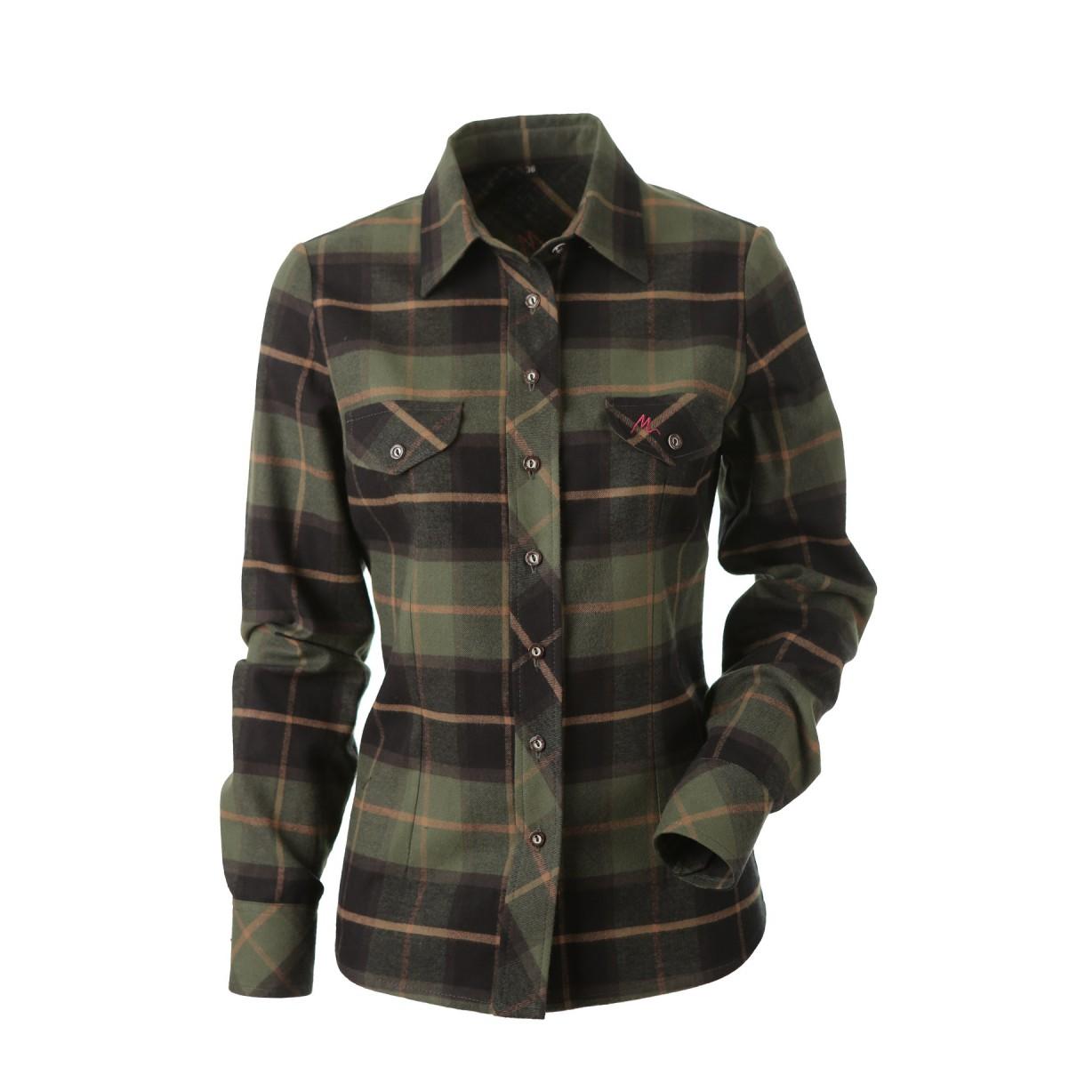 Dámská flanelová košile Šarlota s dlouhým rukávem fefd2131995