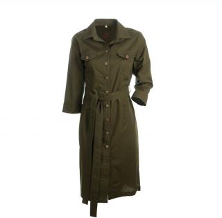 Dámské myslivecké šaty Svatava zelené barvy f838c839eaf