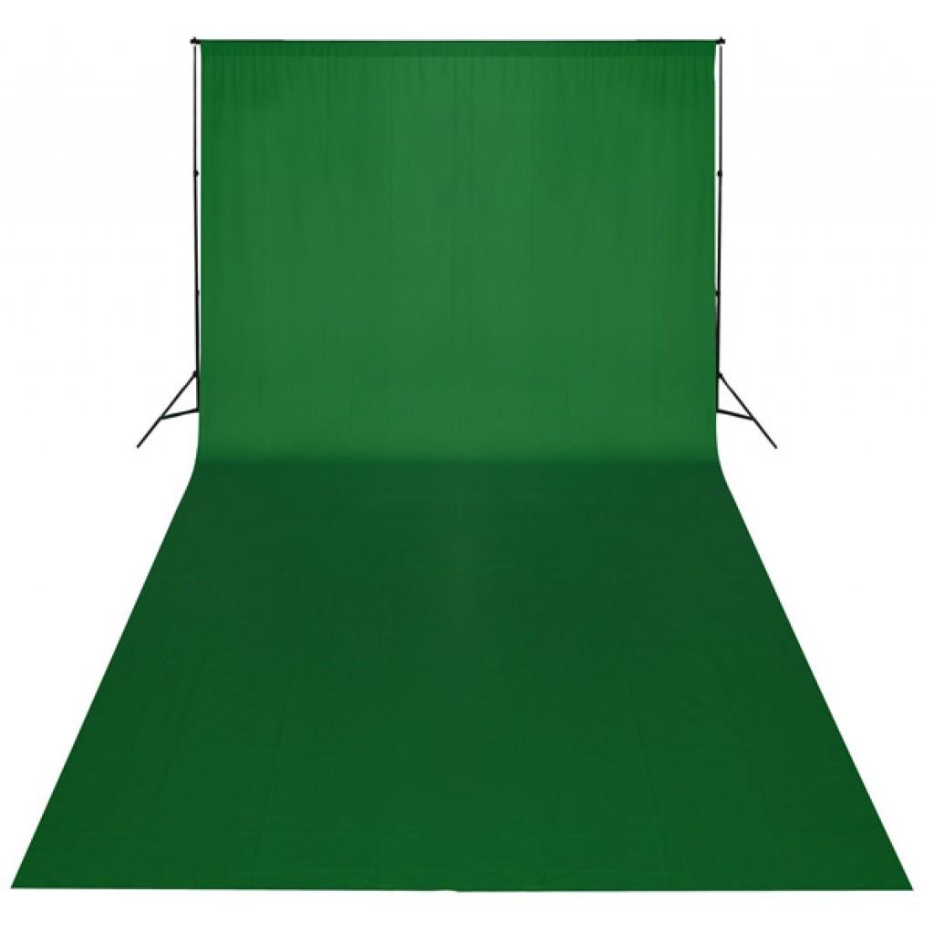 Profesionální fotografické zelené pozadí