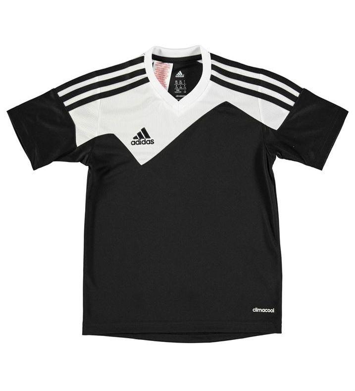 f3a8560c80e3 dětské tričko ADIDAS - BLACK WHITE