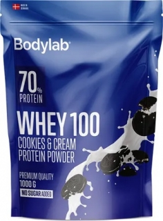 Bodylab Whey Protein 100 1000 g - cookies & cream
