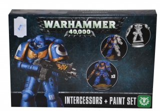 Warhammer 40.000: Intercessors + Paint set