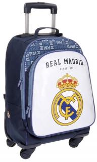 18f194a48 Batoh na kolečkách Real Madrid white 47 cm empty