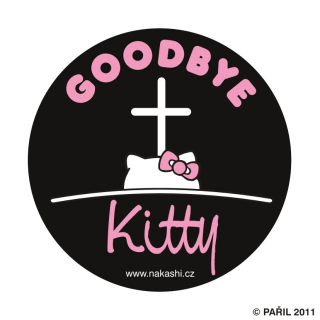 Goodbye Kitty - black
