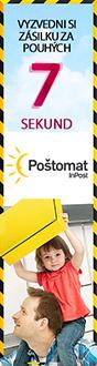 Reklama doručení do Poštomatu