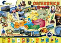 Reklamní plakát: mapa D + A