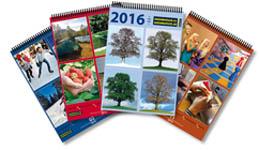 Reklamní kartičkový kalendář