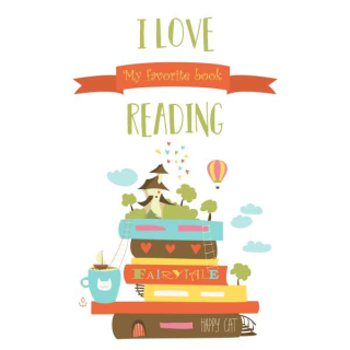 I love reading books