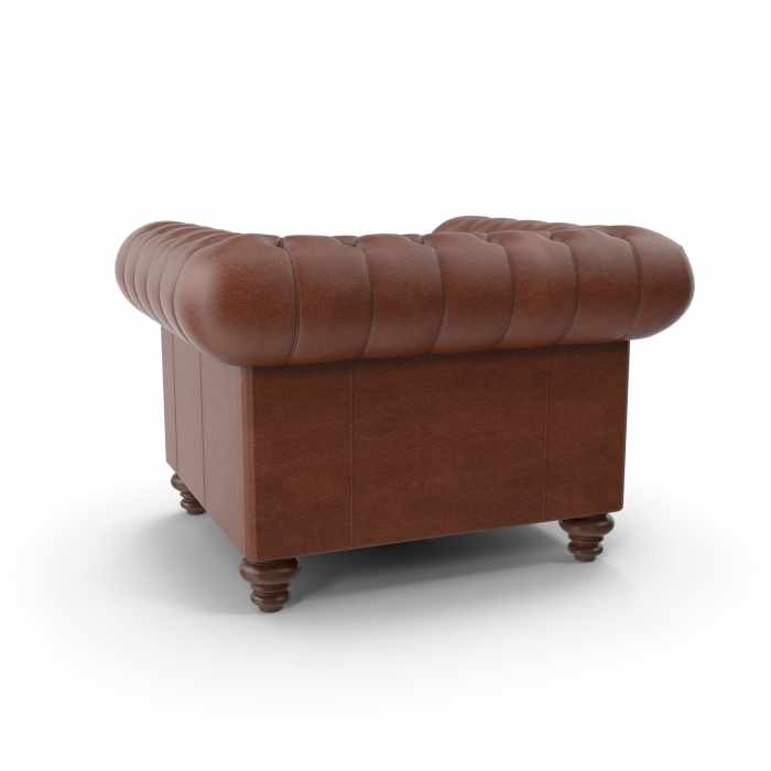 Brown luxury armchair
